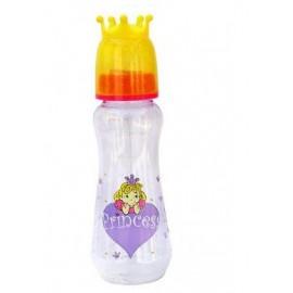 Dojčenská fľaša Princess 250 ml. yellow